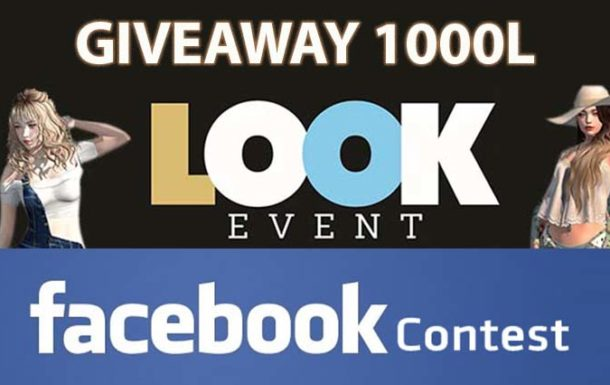 LOOK EVENT facebook contest – Sale