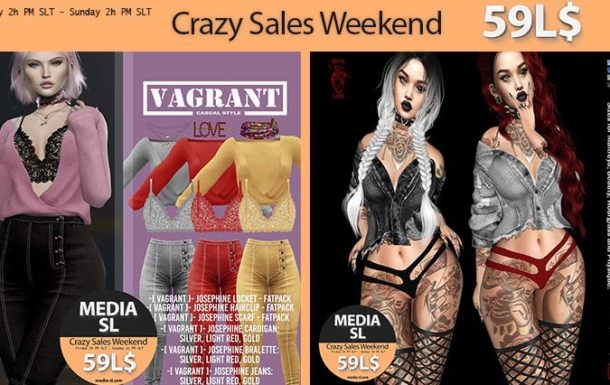 MEDIA SL CRAZY SALE WEEKEND January 03-05TH