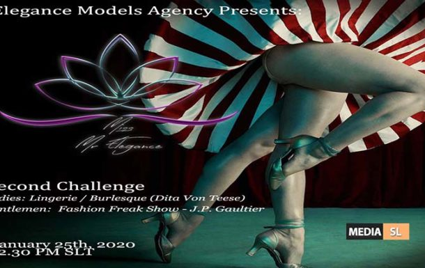 Mr/Miss Elegance 2020 Pageant – SECOND Challenge