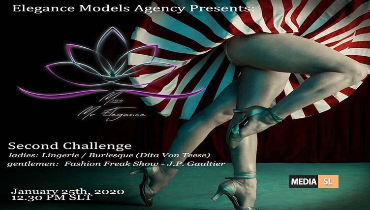 Mr/Miss Elegance 2020 Pageant – SECOND Challenge