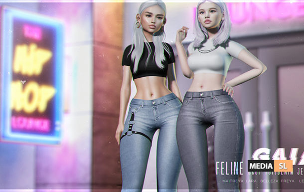 Feline outfit – Level by Gaia – NEW
