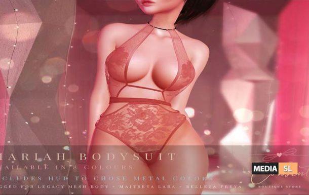 Mariah Bodysuit – NEW