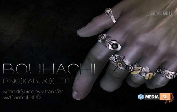 BOUHACHI RING (Kabuki)(Left) – News Men