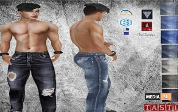 Roman Ripped Jeans with Hud – News Men