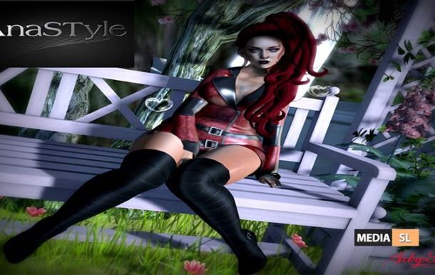 AnaSTyle – Erika Red – NEW