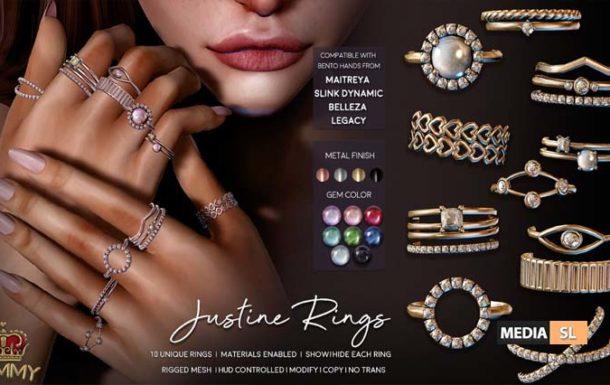 Justine Ring Set – NEW