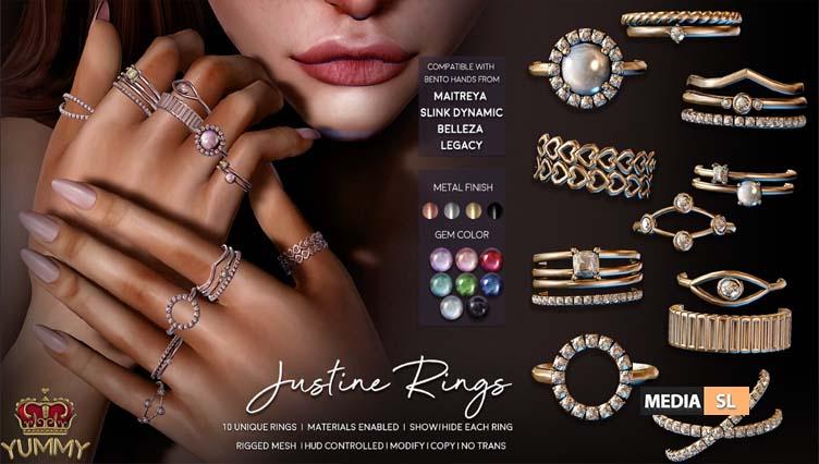 Justine Ring Set – NEW