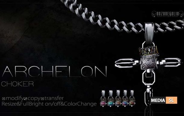 ROZOREGALIA ARCHELON CHOKER – NEW