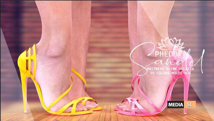 """The Saturday Sale – """"Sandel"""" heels  – Sale"""