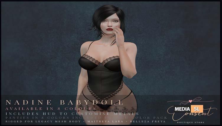 Nadine Babydoll – NEW