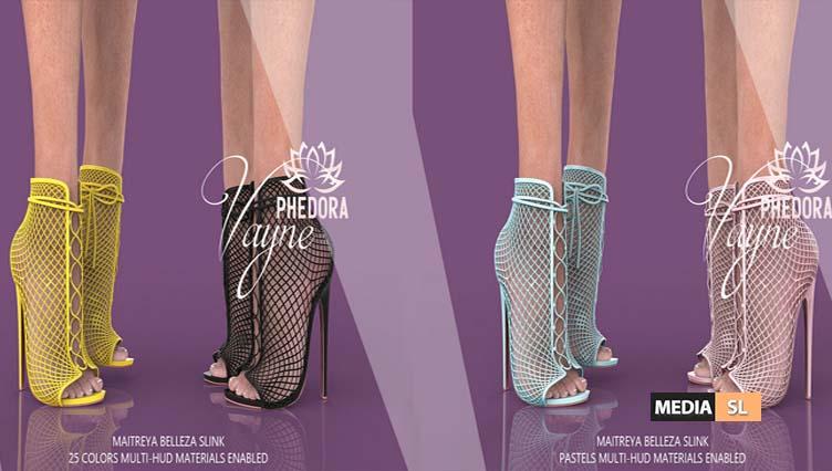 Vayne Heels   – NEW