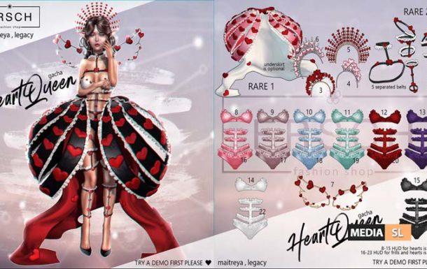 HeartQueen – Gacha
