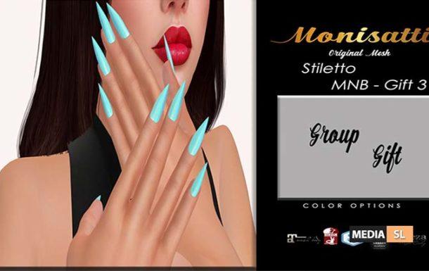 [MNB – Gift 3] Monisatti – Stiletto Nails – Gift