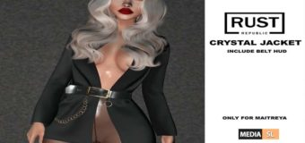 crystal jacket@ Tres Chic January – NEW