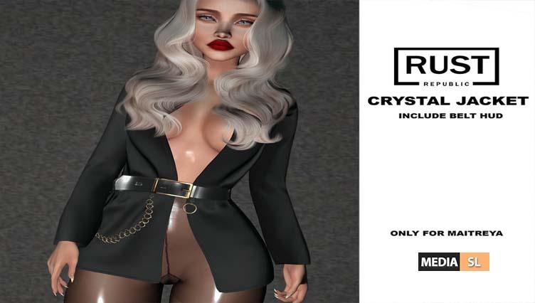 crystal jacket@ Tres Chic January – NEW