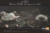 andika Moon Milk Dispenser Set: Group - Gift