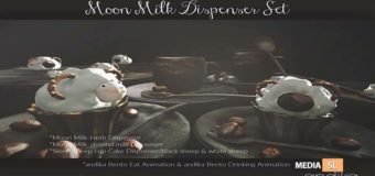andika Moon Milk Dispenser Set: Group – Gift