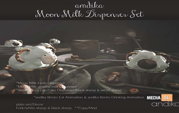 andika Moon Milk Dispenser Set: Group – Gift