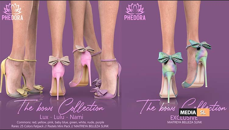 """The Bows Collection"""" Heels  – Gacha"""