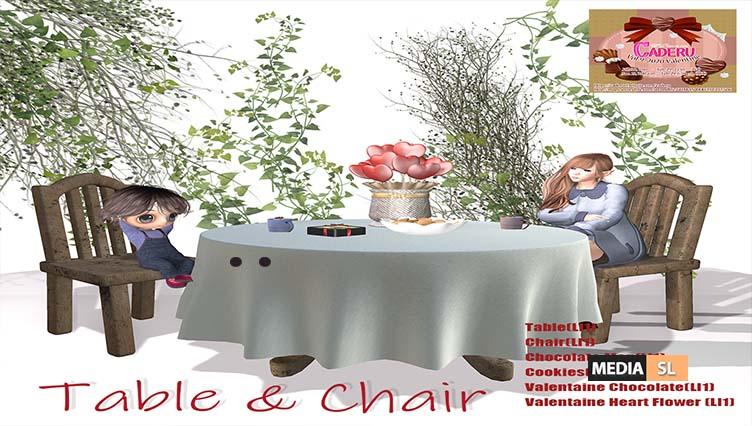 Valentaine Table & Chair – NEW DECOR