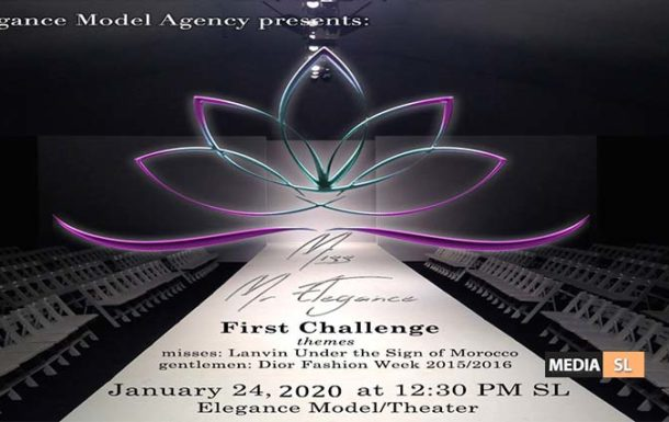 Mr/Miss Elegance 2020 Pageant – First Challenge