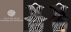 "Marchesa Dress ""Zebra"" –  SALE"