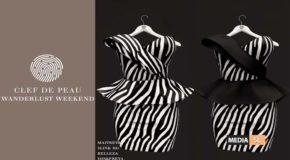 """Marchesa Dress """"Zebra"""" –  SALE"""