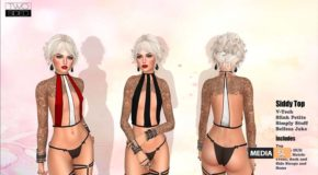 """Flat-chest Top """"Siddy"""" – NEW"""