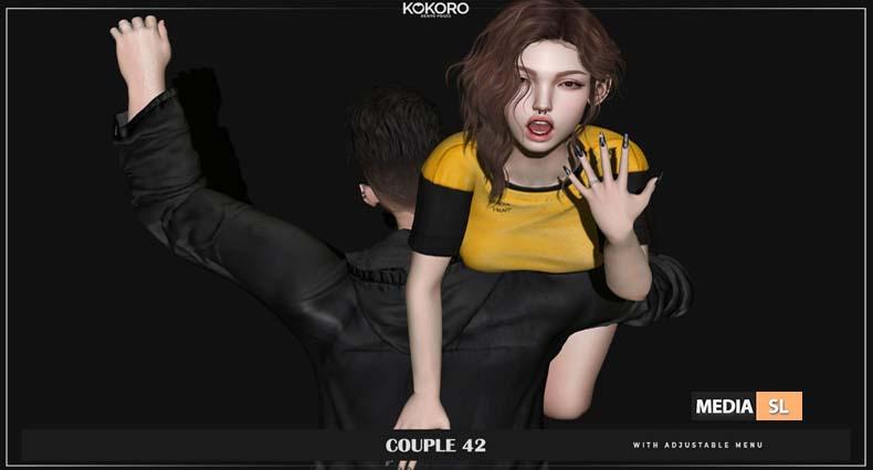 Couple 42 (Bento Poses)  – NEW