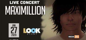 Live concert MAXIMILLION – SHOW