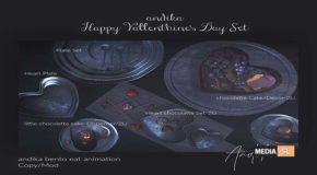 andika Happy Vallenthine's Day set – NEW DECOR