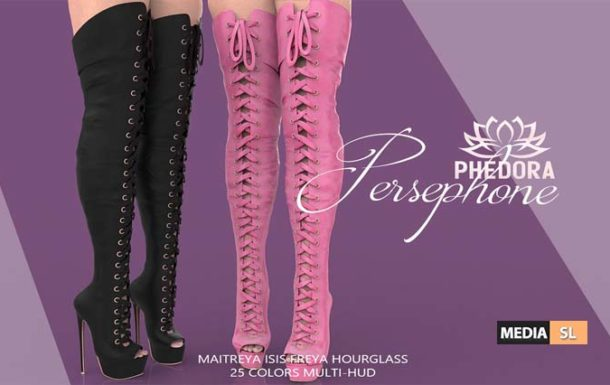 Persephone boots – NEW
