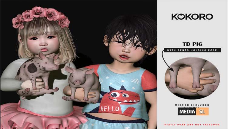 TD Pig (Bento Holding) – NEW