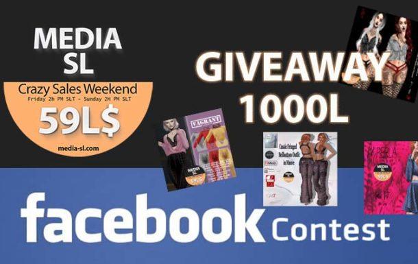MEDIA SL facebook contest – Sale