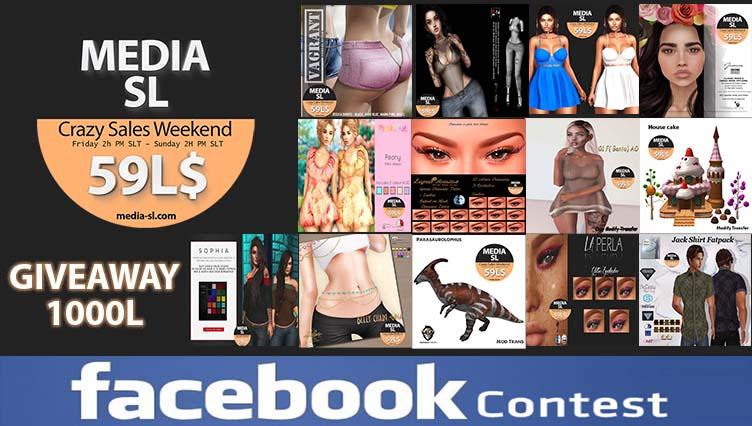 MEDIA SL CRAZY SALE WEEKEND January February 31-02TH