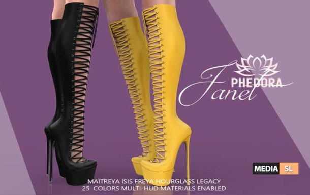 Janet Boots ♥ – NEW