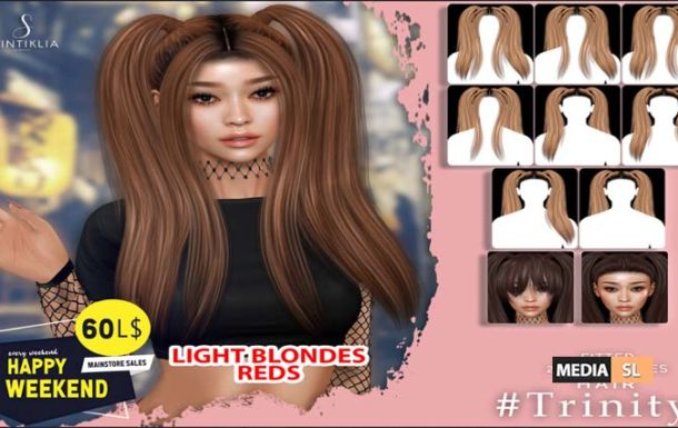 Hair Trinity 60Ls Happy weekend – Sale