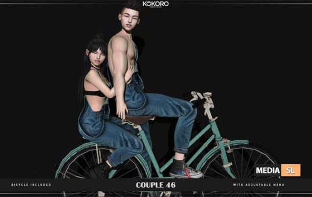 Couple 46 (Bento Pose) – NEW
