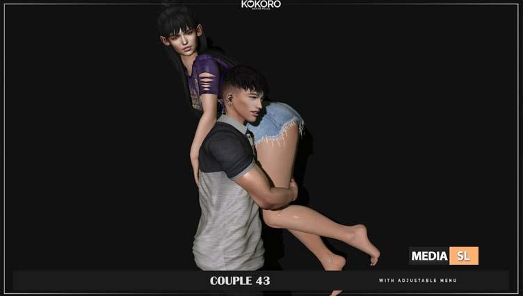 Couple 43 (Bento Poses)  – NEW