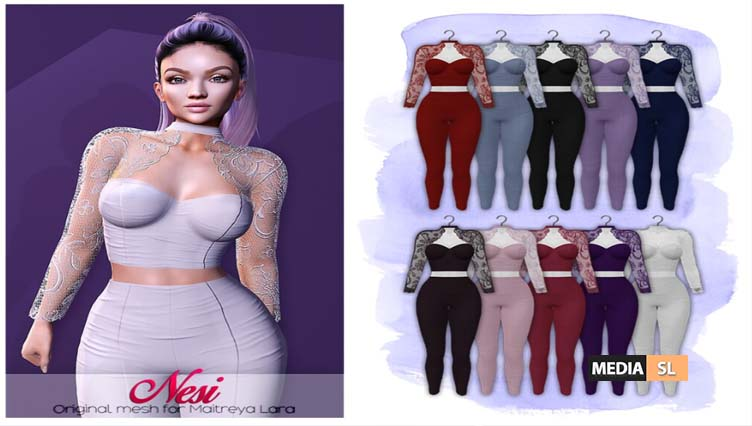 Nesi outfit + GIVEAWAY  – NEW