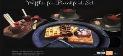 andika Waffle for Breakfast Set – NEW DECOR
