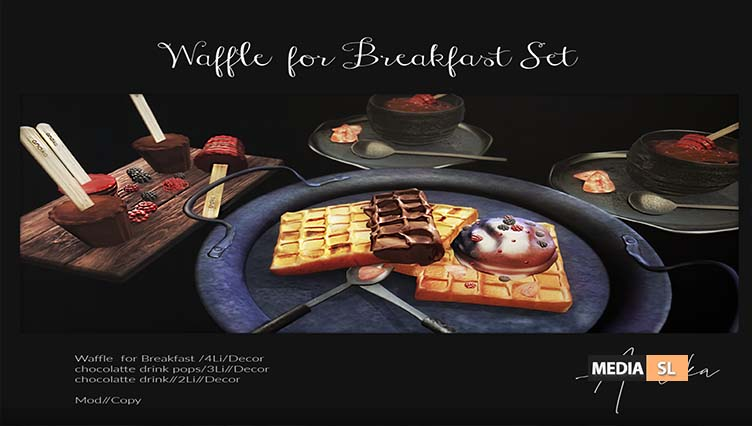 andika Waffle for Breakfast Set – NEW DECOR