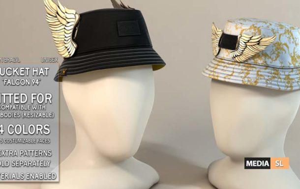 Falcon 94 Bucket Hat – NEW MEN