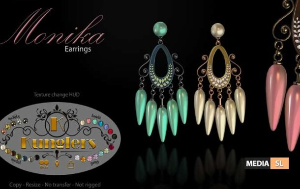 Monika earrings – NEW