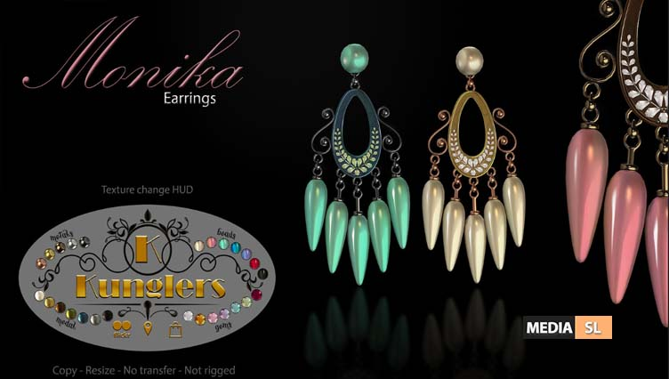 Monika earrings – NEW