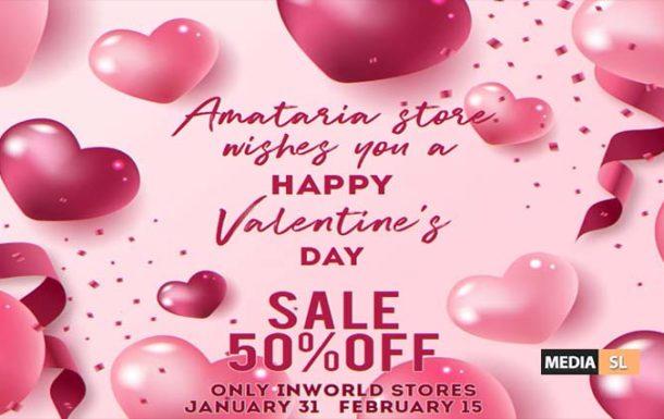 Amataria 50% discount – Sale