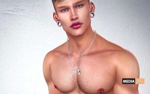 blond body hair as tattoo layer – NEW MEN