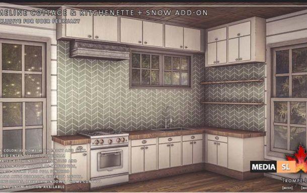Emeline Cottage & Kitchenette – NEW DECOR
