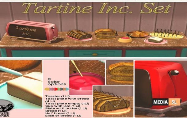 Tartine Inc. Set – NEW DECOR