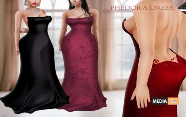 Phedora Dress – NEW